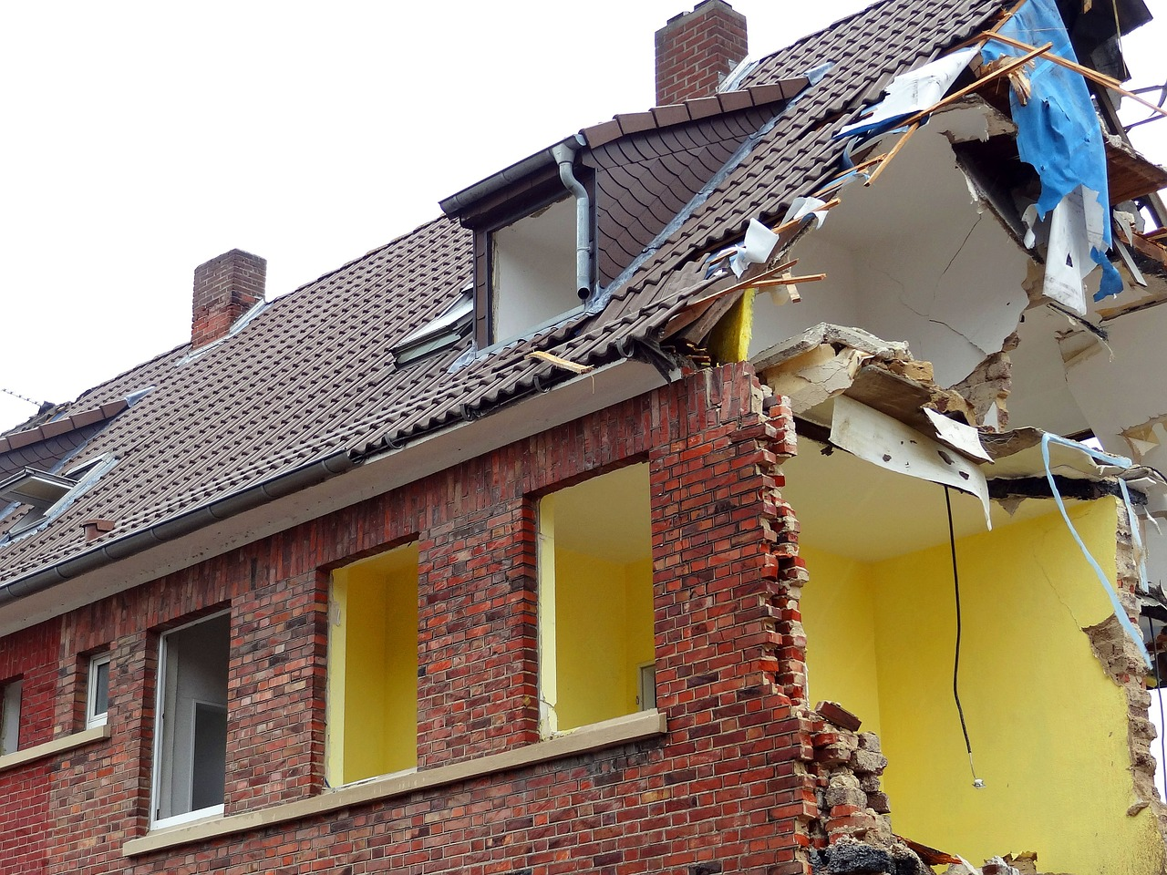 Prix pour démolir une maison dans l'Indre